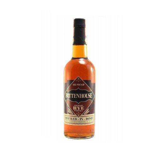 Rittenhouse Straight Rye Whisky 100 Proof 'Bottled-In-Bond', Louisville, Kentucky (750ml)