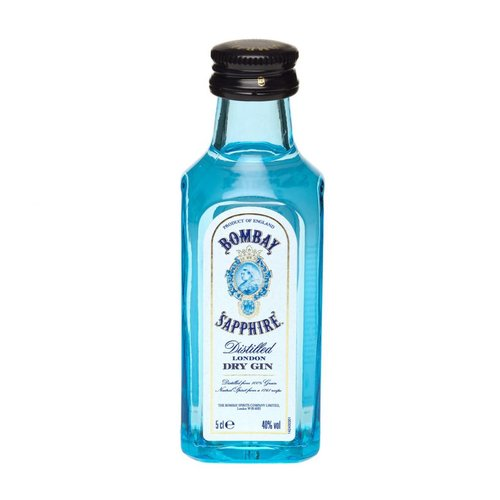 Bombay London Dry Gin 'Sapphire', Hampshire, England (50ml)