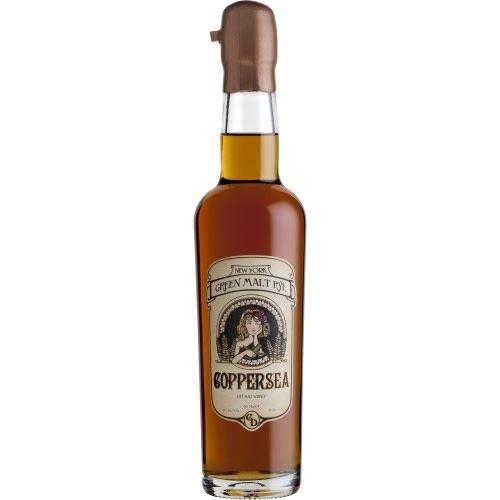 Coppersea Rye Whiskey 'Green Malt', Hudson Valley, New York (375ml)