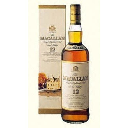 The Macallan 12 Year Single Malt Double Cask Scotch Whisky, Highlands, Scotland (750ml)