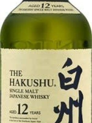 The Hakushu 12 Year Single Malt Japanese Whisky, Japan (750ml)