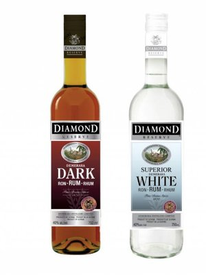 Diamond Reserve Diamond Reserve Demerara Rum Superior 'White', Guyana (1000ml)