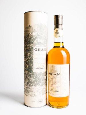Oban 14 Year Single Malt Scotch Whisky, Highlands, Scotland (750ml)