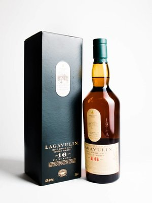 Lagavulin 16 Year Single Malt Scotch Whisky, Islay, Scotland (750ml)