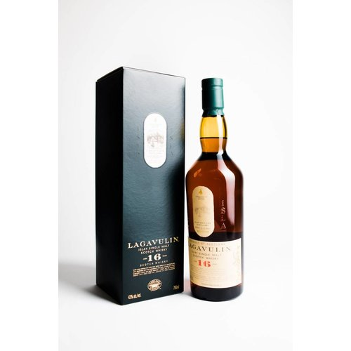 Lagavulin 16 Year Single Malt Scotch Whisky, Islay, Scotland (750ml)