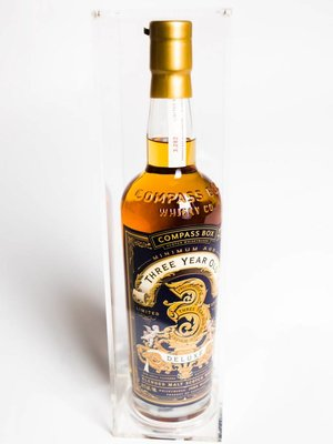 Compass Box Blended Malt Scotch Whisky 'Three Year Old Deluxe', Scotland (750ml)