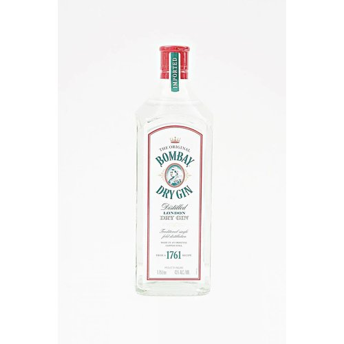 Bombay London Dry Gin, Hampshire, England (1.75L)
