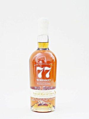 Breuckelen Distilling Whiskey 77 'Local Rye & Corn', Brooklyn, New York (750ml)