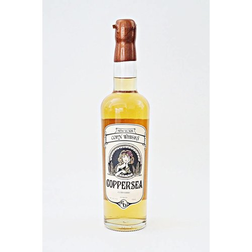 Coppersea Corn Whiskey, Hudson Valley, New York (750ml)