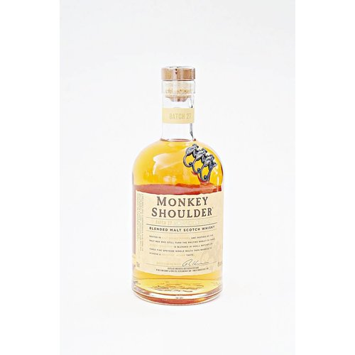 Monkey Shoulder Blended Scotch Whisky (750ml)