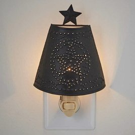 Park Designs Star Shade Night Light