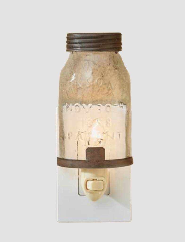 Park Designs Mason Jar Night Light