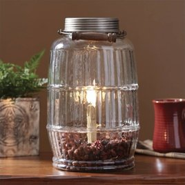 Park Designs Pickle Jar Lamp
