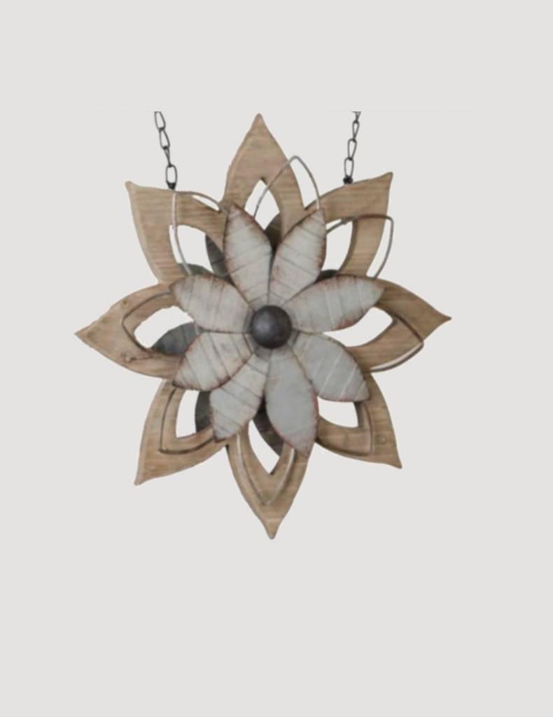Metal & Brown Wood Flower Arrow Replacement