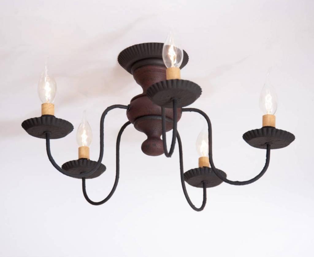 Irvin's Tinware Thorndale Ceiling Light in Hartford