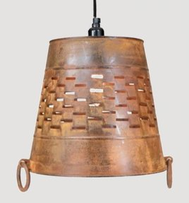 Large Bucket Pendant Lamp