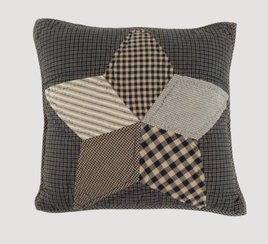 VHC Brands Farmhouse Star Filled Pillow Quilted