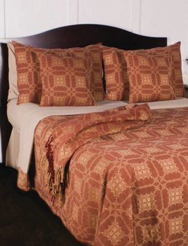 Home Collections By Raghu Smithfield Jacquard Red Pillow Sham