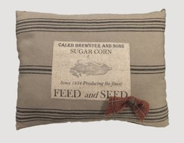 Feed & Seed Handmade Pillow