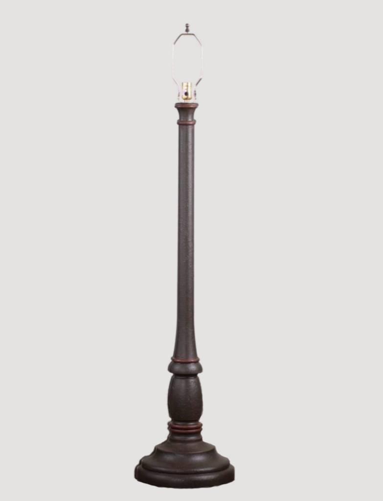 Irvin's Tinware Brinton House Floor Lamp Base