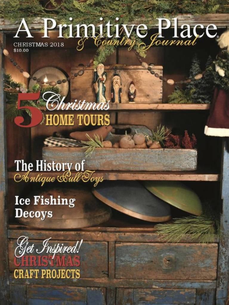 A Primitive Place Magazine Christmas 2018