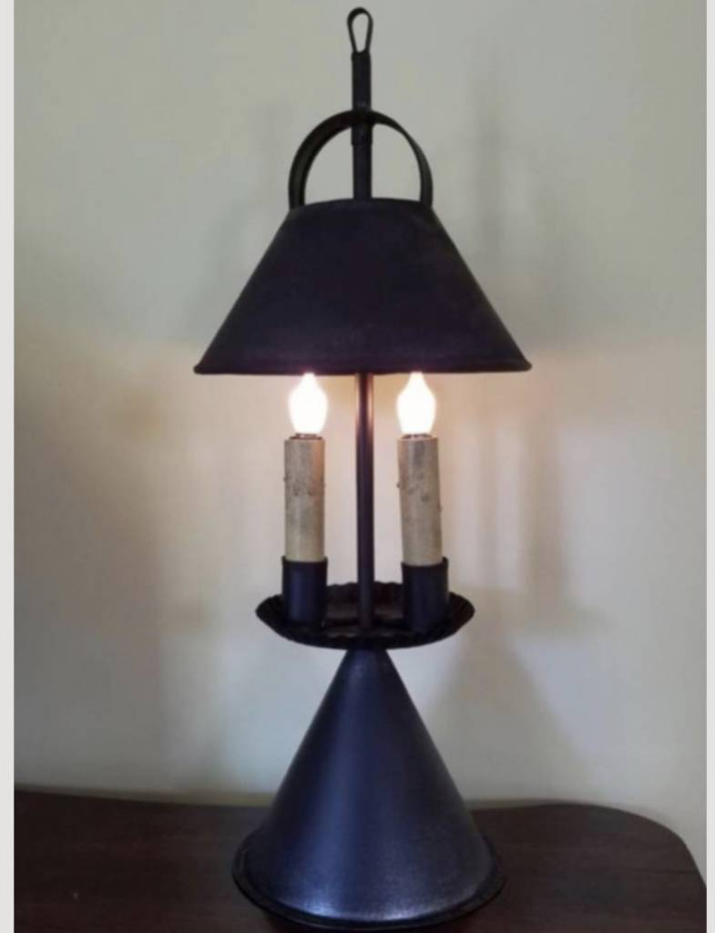 Dakota Table Lamp Primitive Colonial