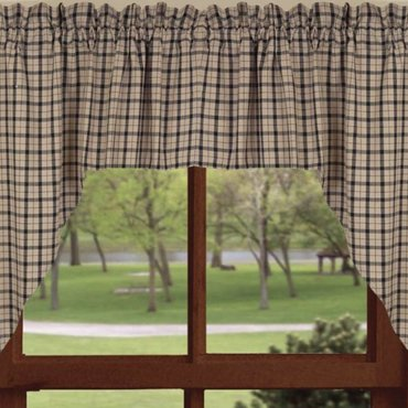 Salem Check Curtains