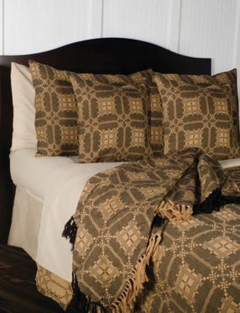 Home Collections By Raghu Smithfield Jacquard Black Pillow Sham