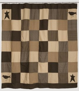 VHC Brands Kettle Grove Shower Curtain