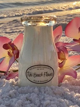 Milkhouse Candles Tiki Beach Flower 8oz Milkhouse