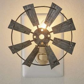 Park Designs Windmill Night Light