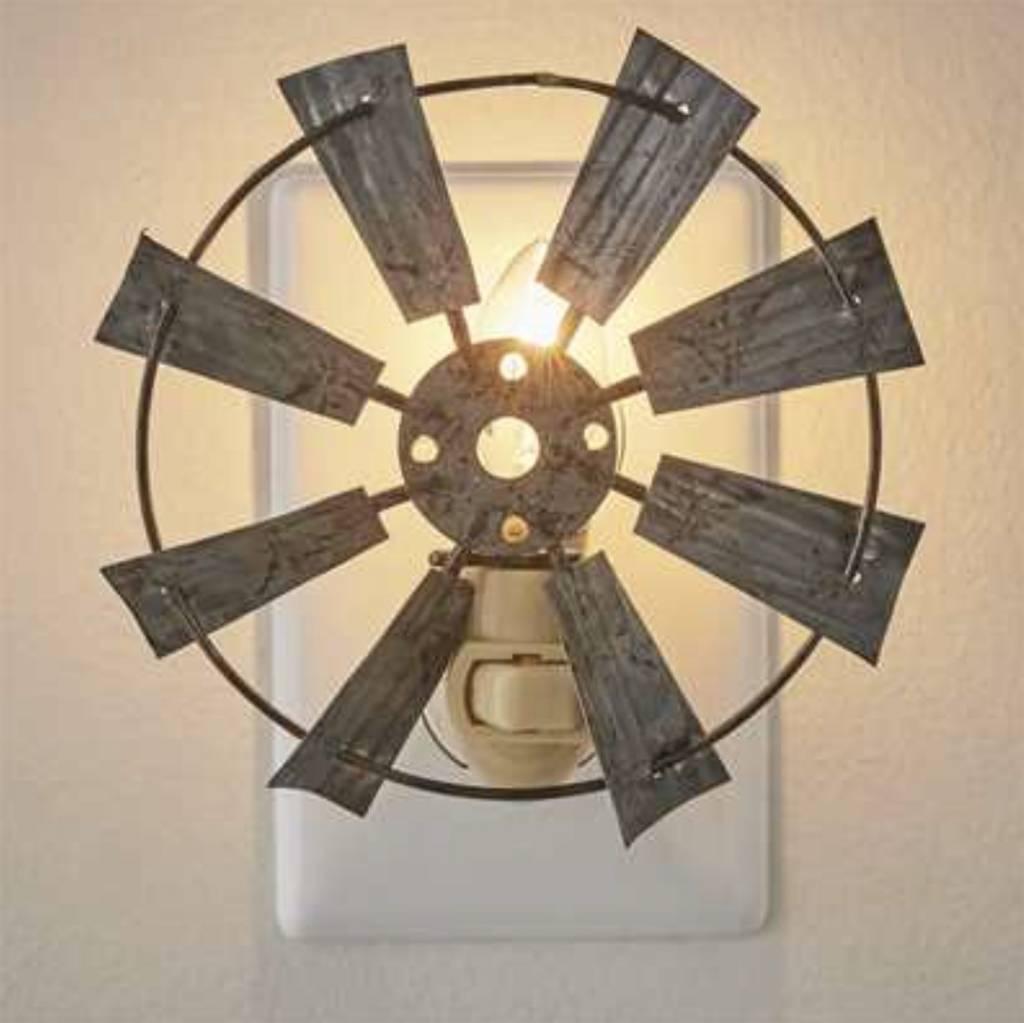 Park Designs Windmill Night Light