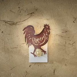 Park Designs Rooster Night Light