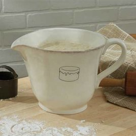 Villager Batter Bowl - Cream