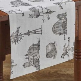 Park Designs Farm Memories Table Runner 36""