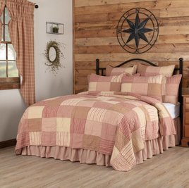 VHC Brands Sawyer Mill Red Bedding Collection
