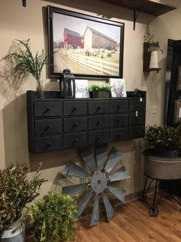 Nana's Farmhouse Apothecary Wall Cabinet