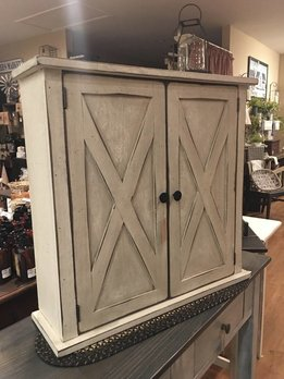 Farmhouse Barn Wall Cabinet