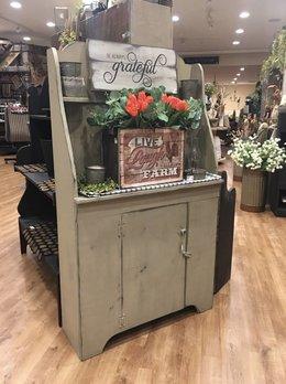 Nana's Farmhouse Peg Cabinet