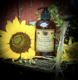 Herbal Star Candles Sunflower Liquid Hand Soap