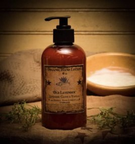 Herbal Star Candles Old Fashioned Lavender Organic Hand Lotion