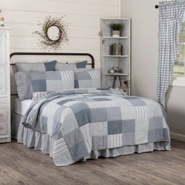 VHC Brands Sawyer Mill Blue Bedding Collection
