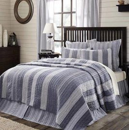 VHC Brands Cape Cod Bedding Collection Queen