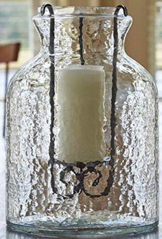 Park Designs Hammered Jar Candle Holder