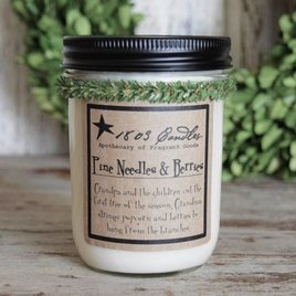 1803 Candles 1803 Pine Needles & Berries Candle