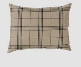 Park Designs Fieldstone Black Plaid Standard Sham