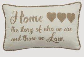 Park Designs Home Story Pillow