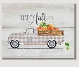 Nana's Farmhouse Hello Fall Vintage Truck Pallet Art