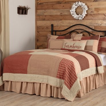 Rory Schoolhouse Red Bedding Collection