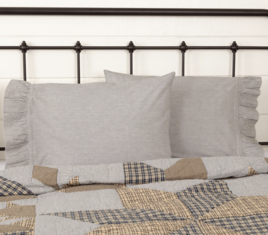 VHC Brands Dakota Star Farmhouse  Pillow Cases
